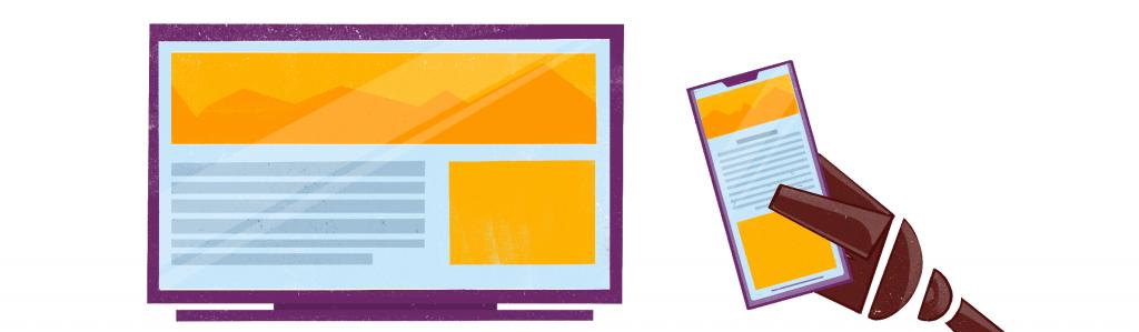 Словарь email-маркетолога: Адаптивная вёрстка